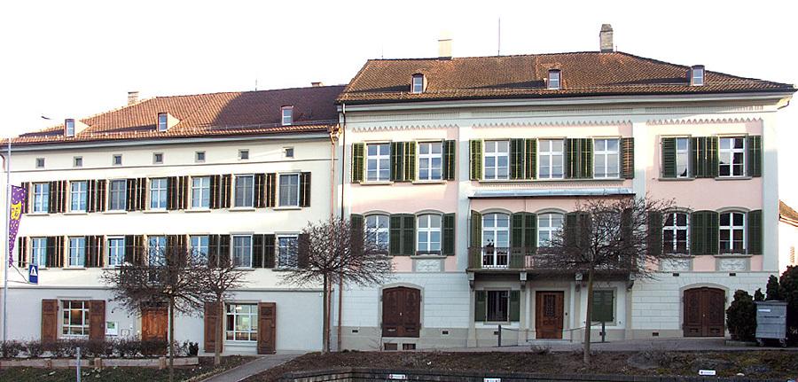 Gebäude des Vinorama Museums Ermatingen